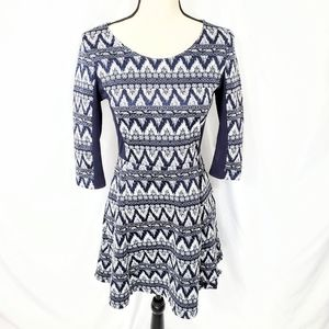 Divided by H&M Aztec print A Line Dress